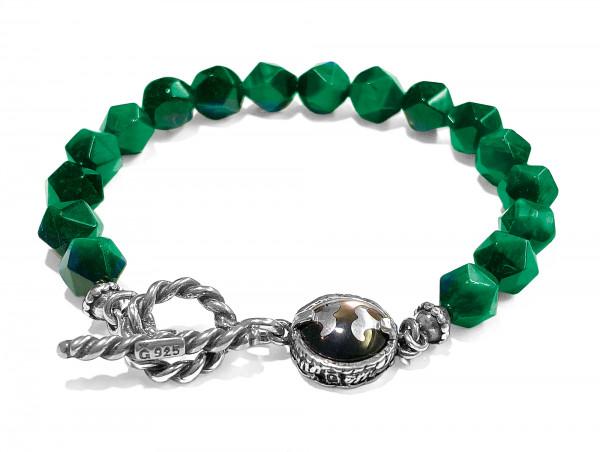 Armband • H2O   Green Tigereye