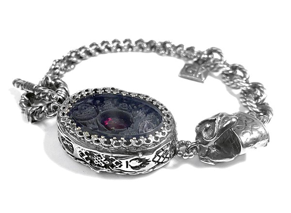 Armband • Amulet   Granat