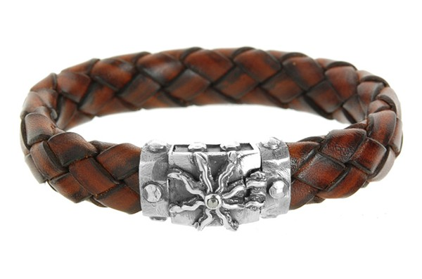 Armband • Elfin Sun Lock Facetted | Meteorite