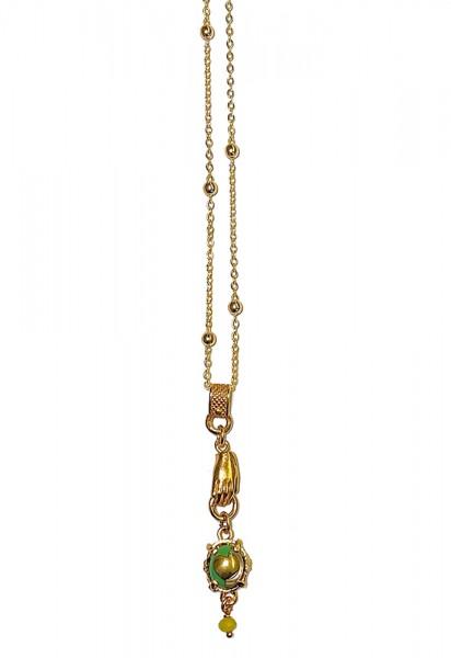 Kette • Golden Haritage | Gold Plattiert | Green