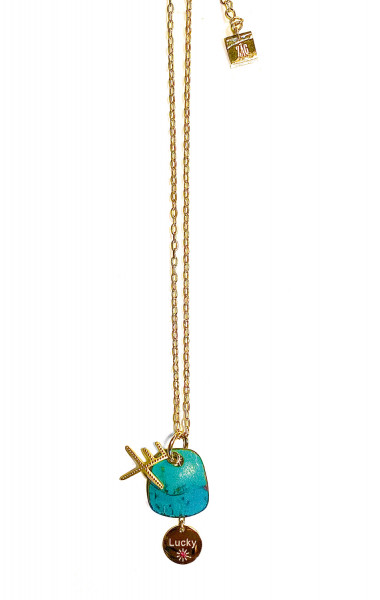 Kette • ZAG | Lucky Charms | Turquoise