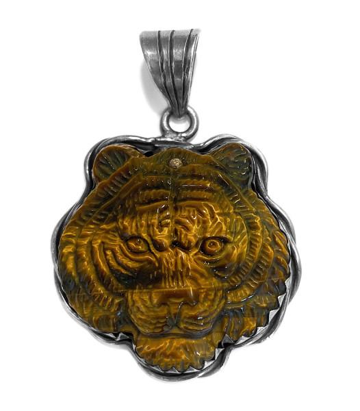 Anhänger • Lion | Tigereye