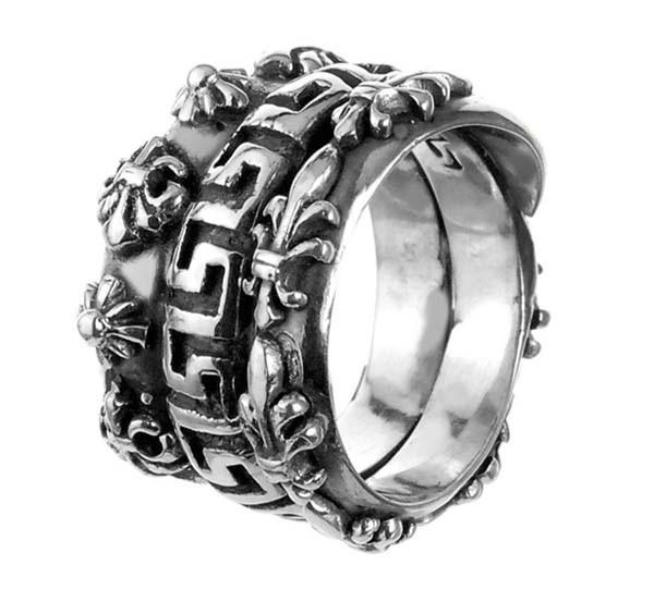 Ring • Spiral | Meander & M-Stars & Lilies