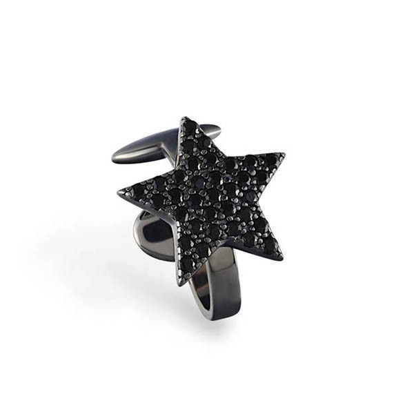 Ear Cuff • Star | Black