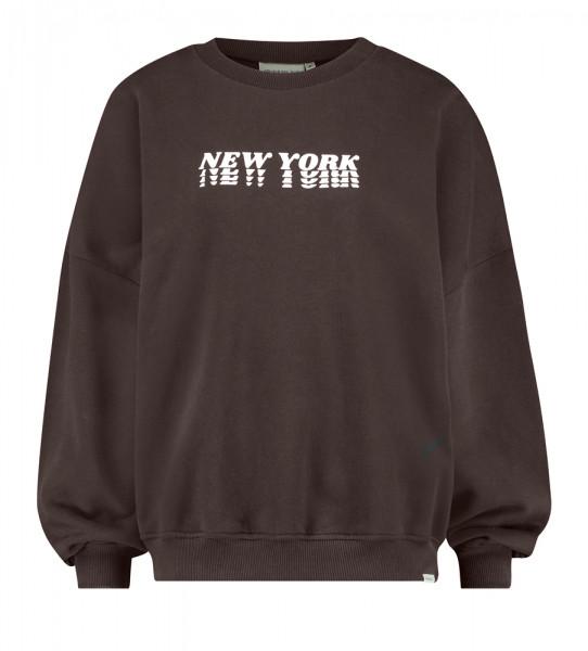 Sweatshirt • Sweater Print   W21LAB   Coffeebean