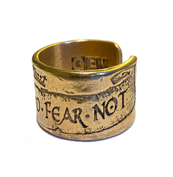 Ring • Be Just and Fear Not