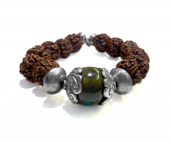 Armband • Rudraksha | Keramik