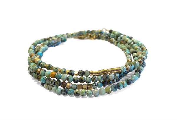 Armband • Zag | Wrapbead | Turquoise
