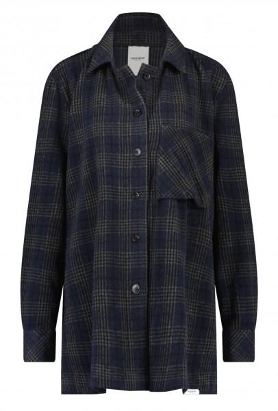 PENN&INK N.Y • Jacke   Jacket W21Main   Karo   Navy Check