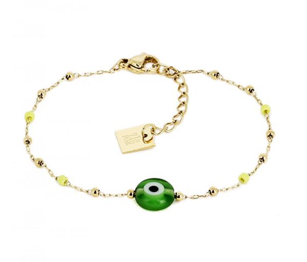 Armband • ZAG | Nazar Eye | Green