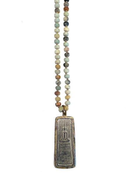 ICON • Kette Buddha71 | Amazonite