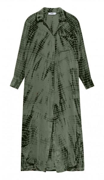 Kleid • Hemdblusenkleid | Maxi • Chemise Tie and Dye | Sanna