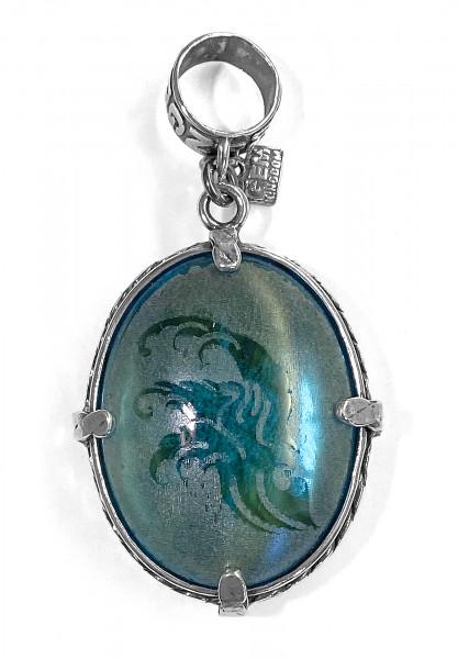 Anhänger • H2O | Blue Crystal | Tigereye
