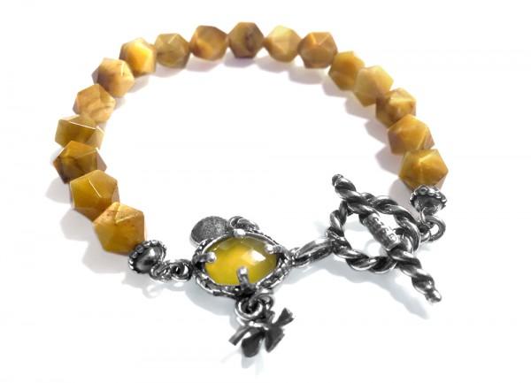 Armband • My Secret Garden | Tigereye Yellow