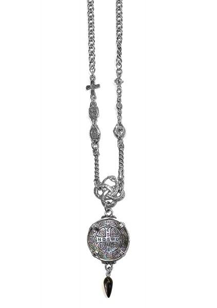 Kette • Alchemy of Soul | Saint Benedict Medal