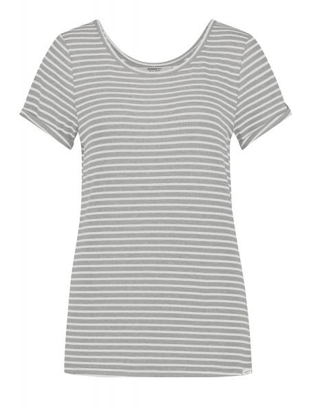 T-Shirt • Tee Print | Stripe | W20M • Antra | Grey