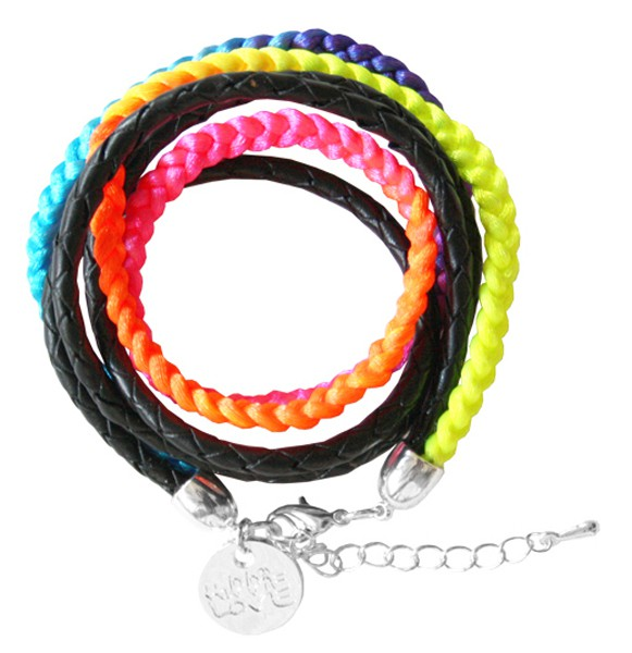 Armband | Hippie LOVE | Neon Rainbow • BIG | SOMMER of LOVE