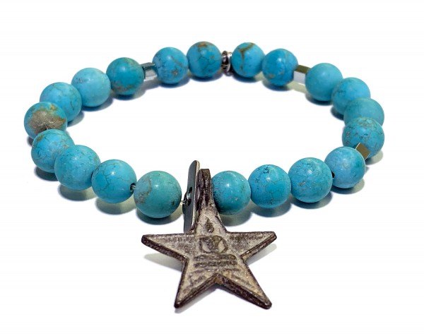 ICON Armband • STAR | Turquoise | White