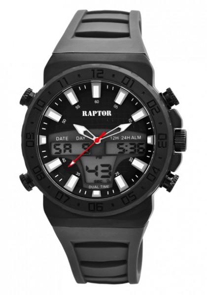 Raptor • Analog-Digital Herren-Uhr