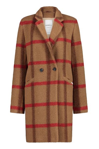 Mantel • Coat   W20M   Karo   Camel