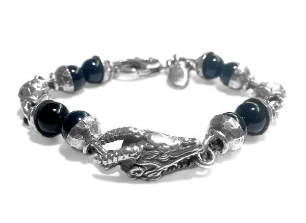 Armband •Beads Dragon & Balls | Onyx