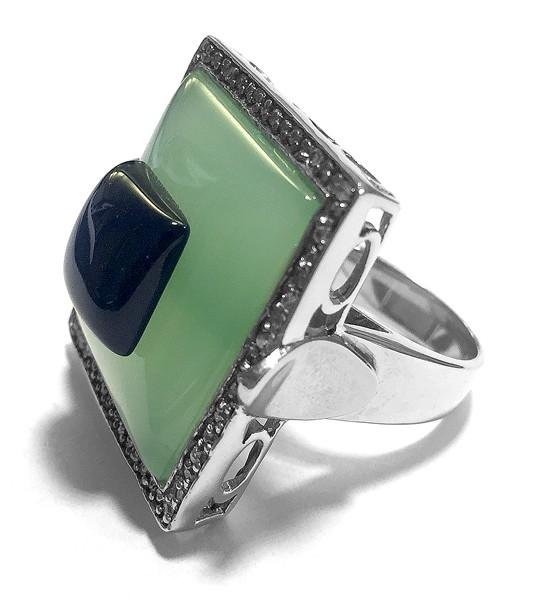 Ring • Chrysopras