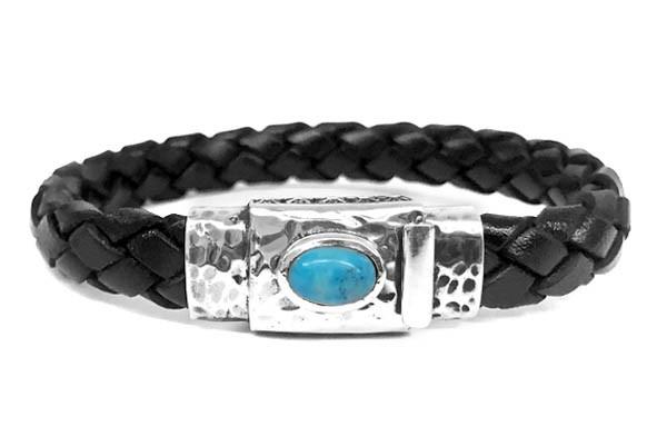 Armband • Oval Turquoise Boxlock