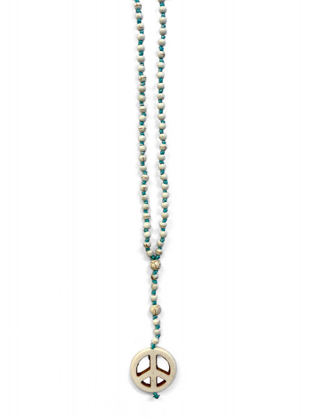 ICON • Kette Sue Peace | Turquoise