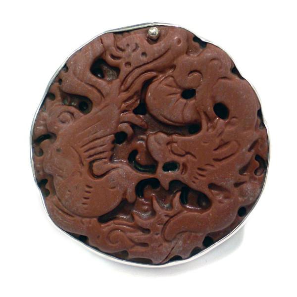 Steinring • Chinesische Jade