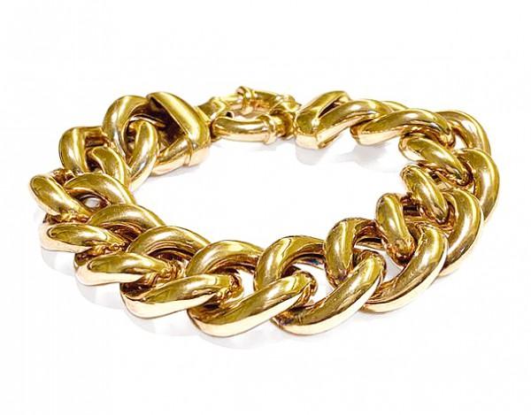 Armband • 925 Sterling Silber   Gold Plattiert