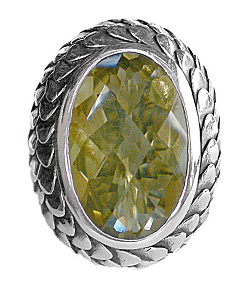Ring • Dragon Scales | Lemon