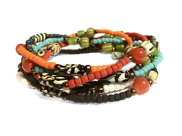 ICON Armband • 6-SET | Mix | Africa