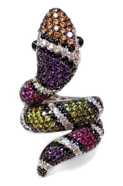 Ring • Snake | Multicolor